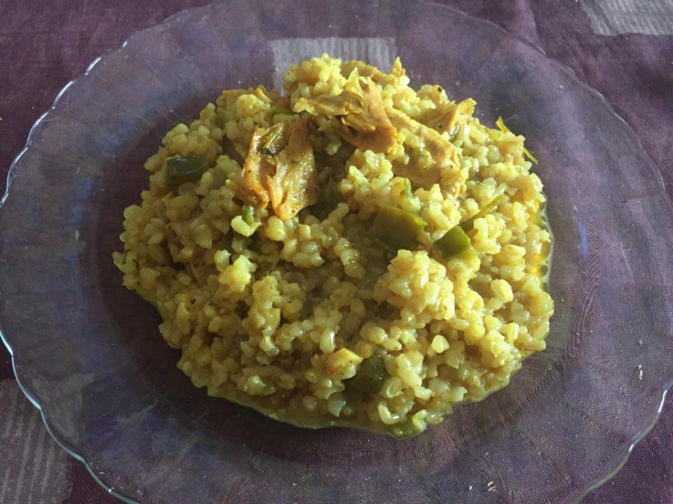 Arroz de Heura al curry