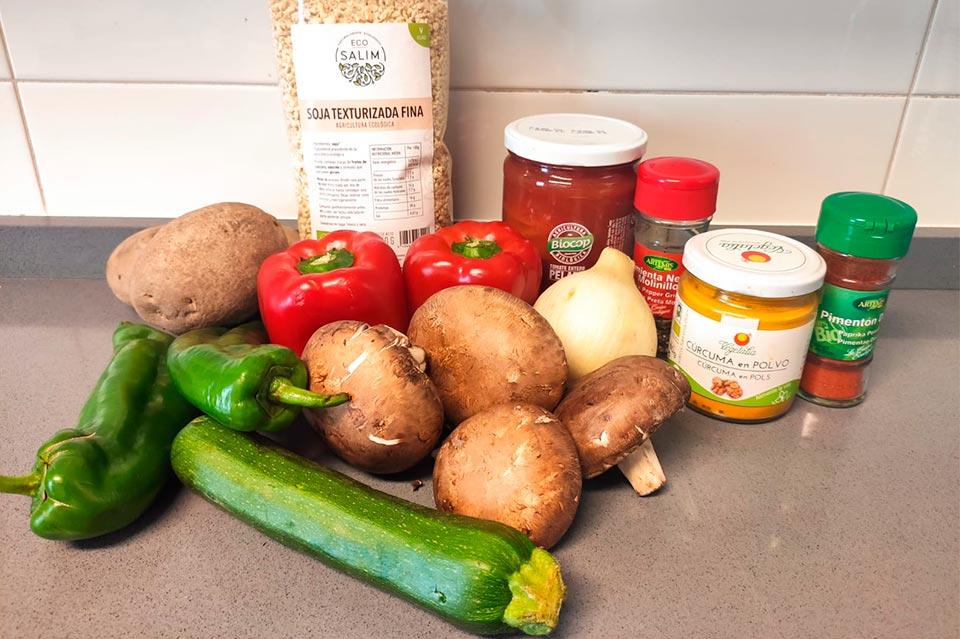 descubre los ingredientes para hacer un pastel de verduras