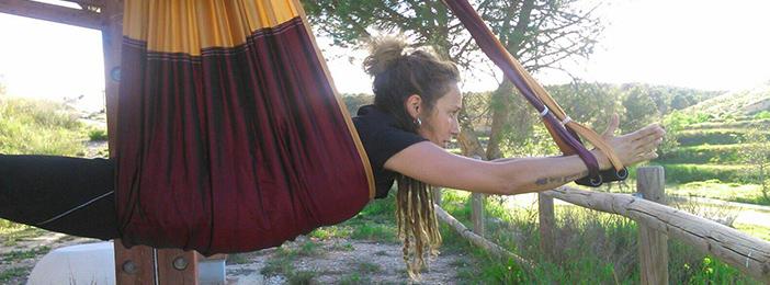 clases de yoga aereo en zaragoza